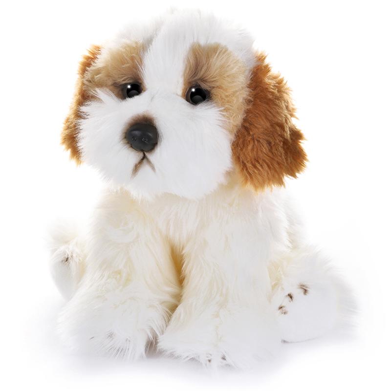 Игрушка мягкая Maxitoys Собака Кавашон 30 см игрушка мягкая maxitoys калифорнийский кролик 30 см