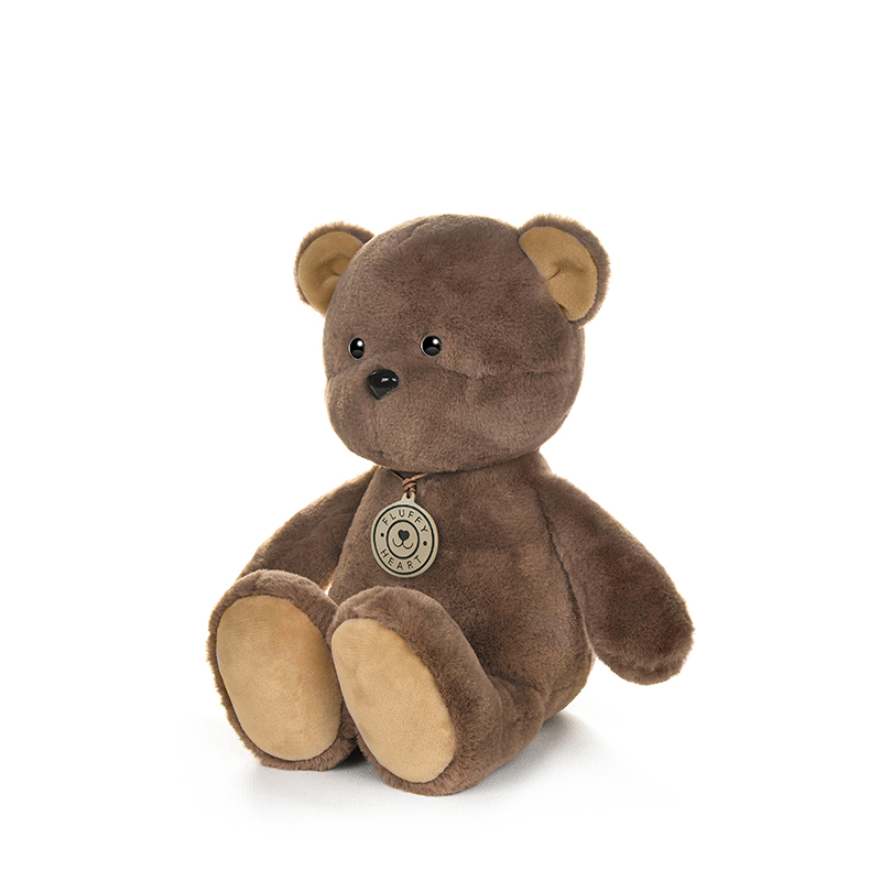 Игрушка мягкая Maxitoys Fluffy Heart Медвежонок 35 см фото