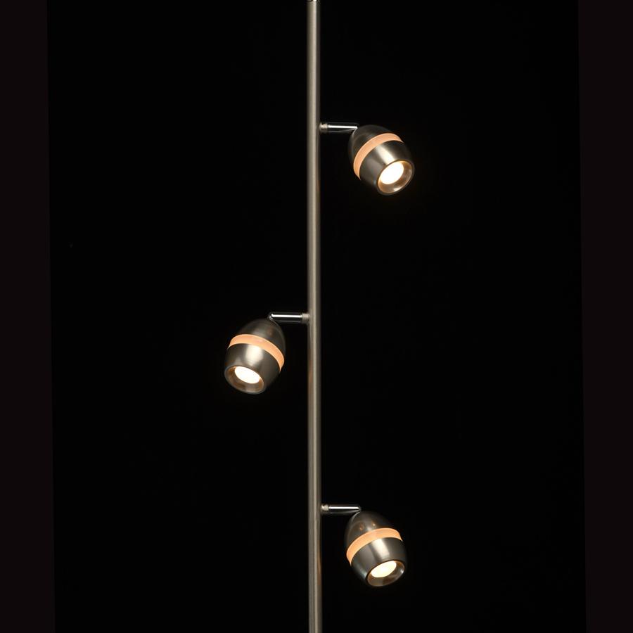 Торшер De markt 704040503 3/4w led светильник трек de markt 550011605 5 4w led