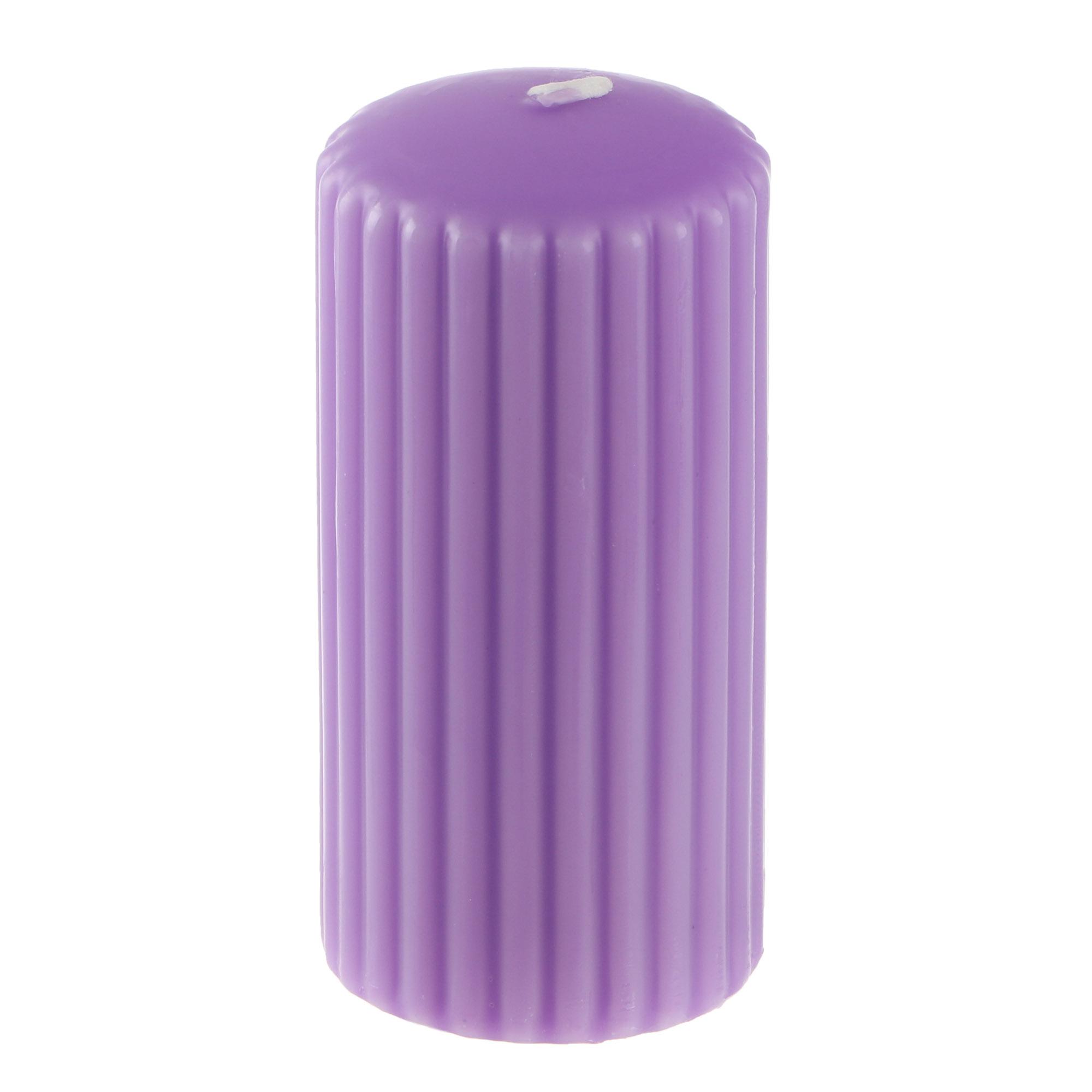 Свеча ароматическая Bolsius pillar 120/58 лаванда