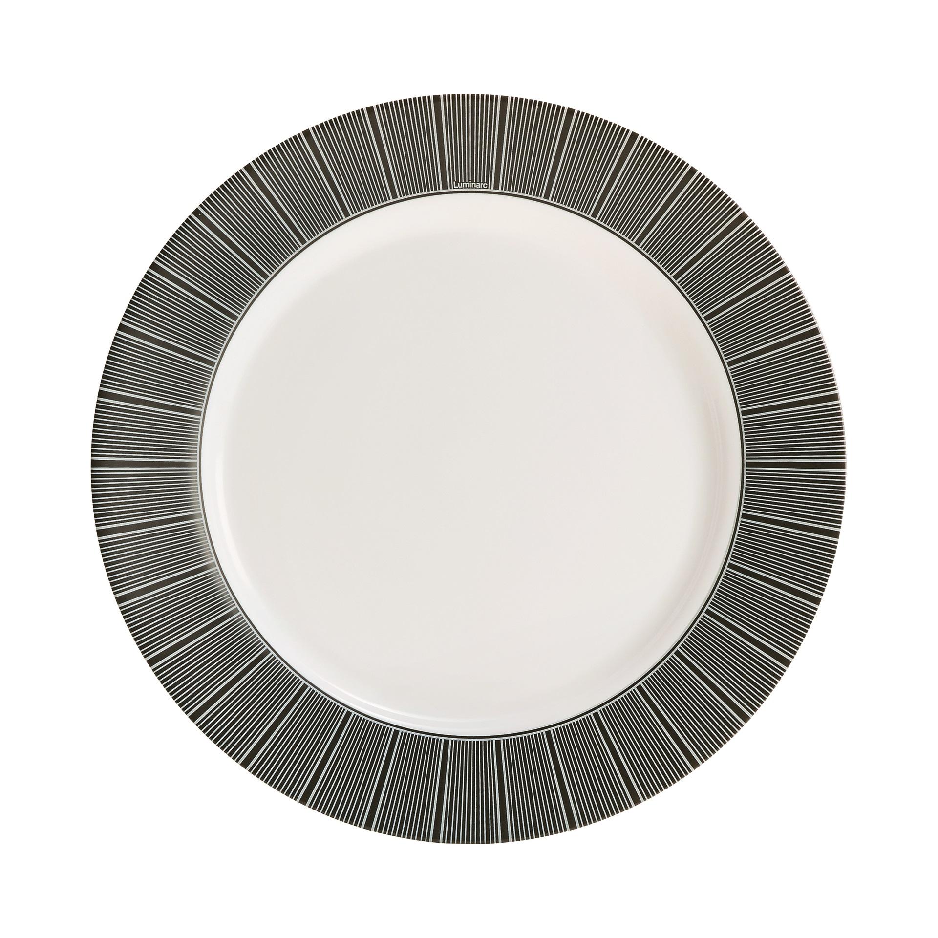 Тарелка обеденная Luminarc Astre black 26 см luminarc тарелка обеденная armoise 25 см белый