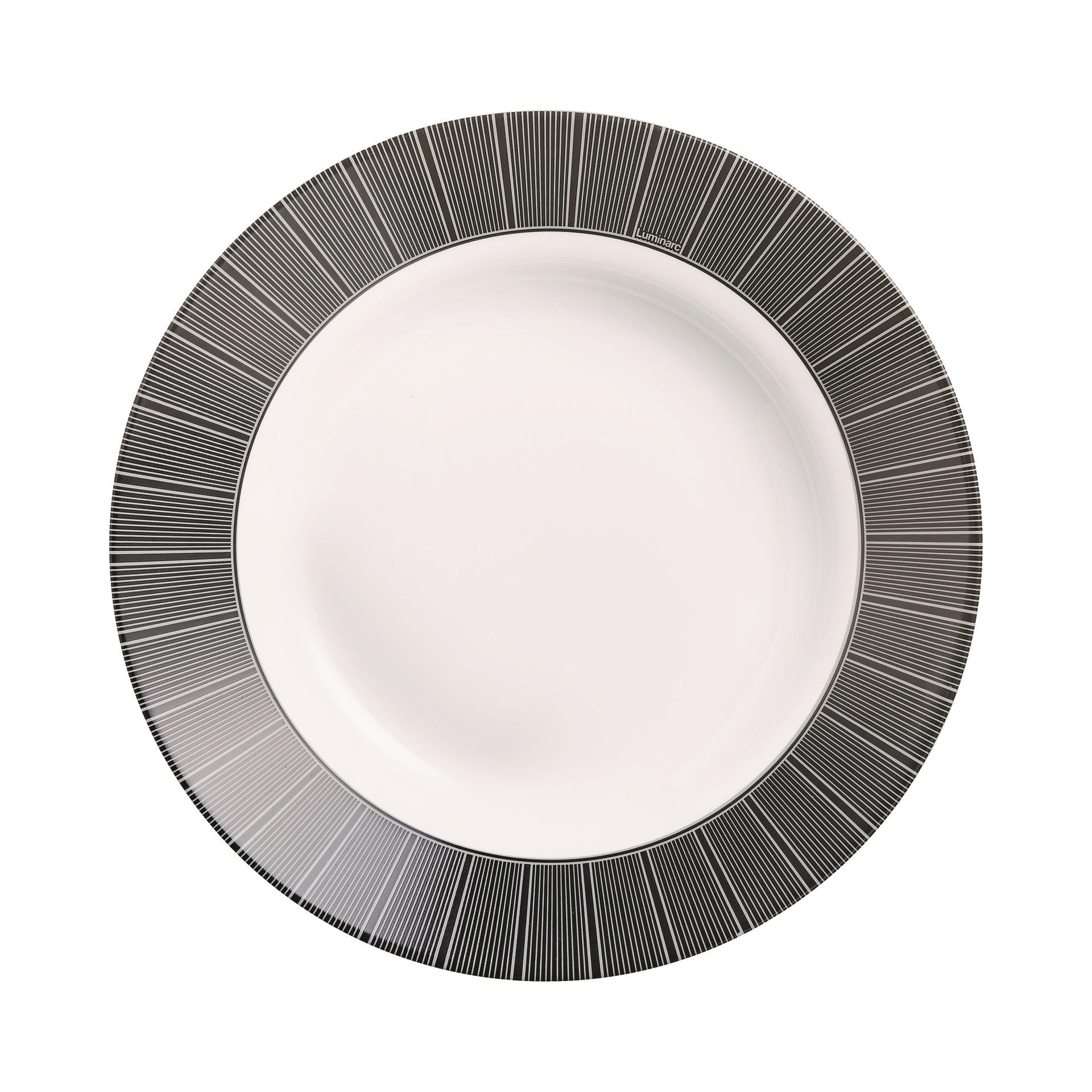 Тарелка суповая Luminarc Astre black 22 см тарелка суповая luminarc harena black 23 5 см