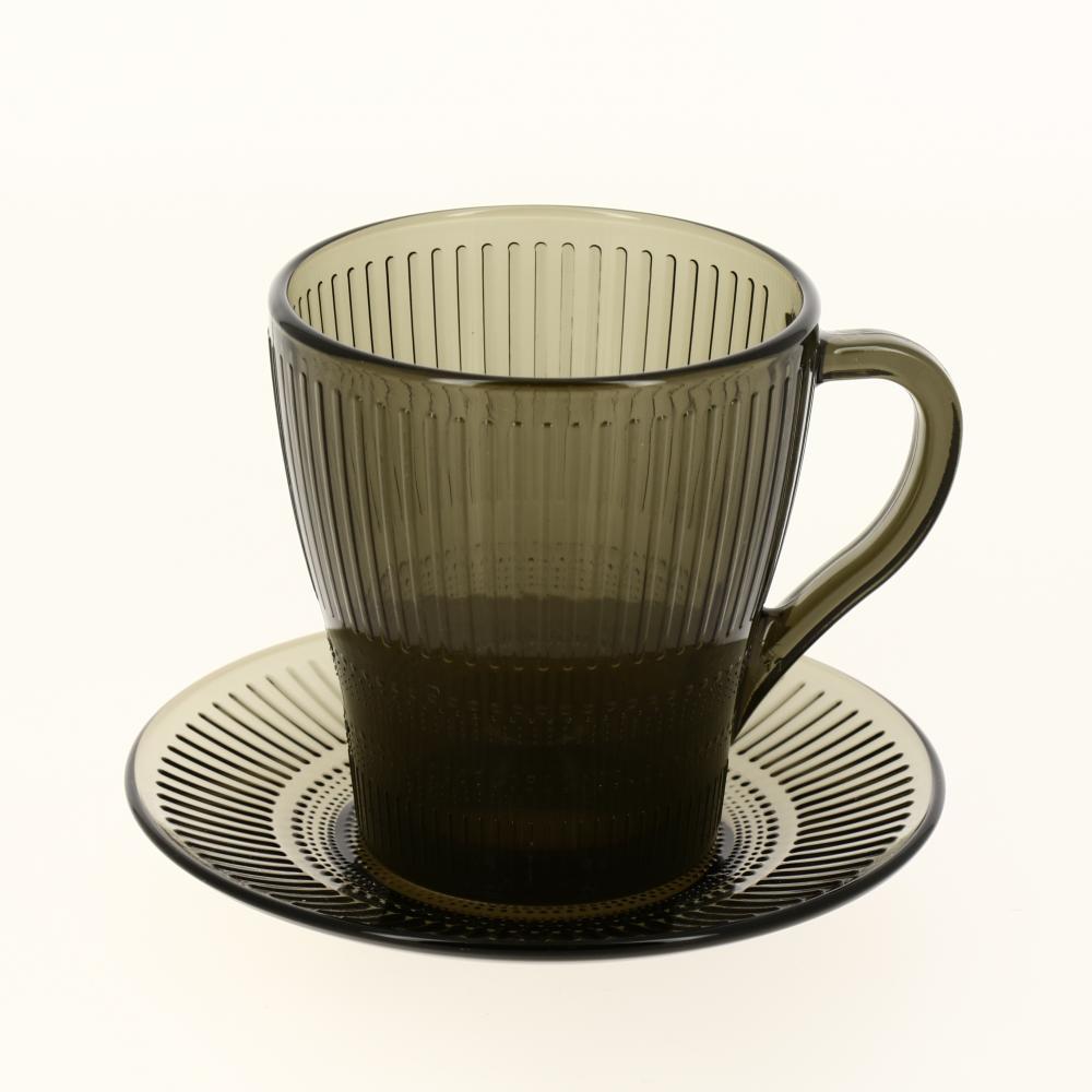 Набор чайный Luminarc из 12 предметов Louison Eclipse тарелка суповая luminarc louison eclipse 20 см