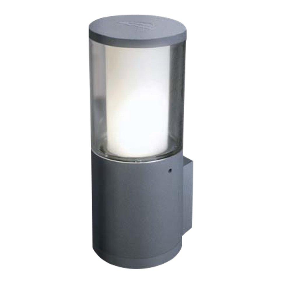 светильники Светильник Fumagalli carlo wall серый прозрачный 1xgu10 led