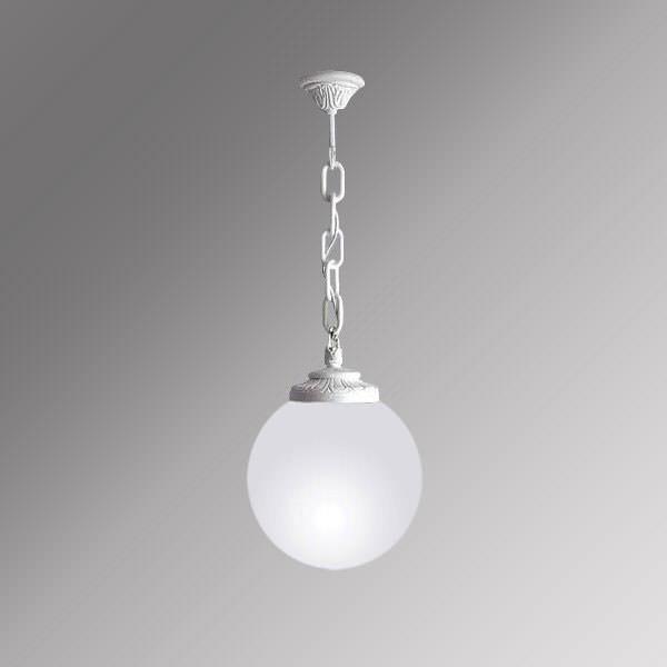Светильник Fumagalli sichem/globe 300 белый опальный