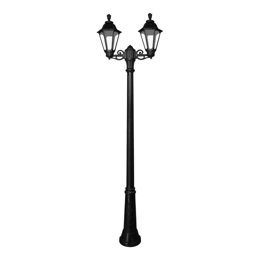 светильники Светильник Fumagalli ricu bisso/rut 2l черный прозрачный