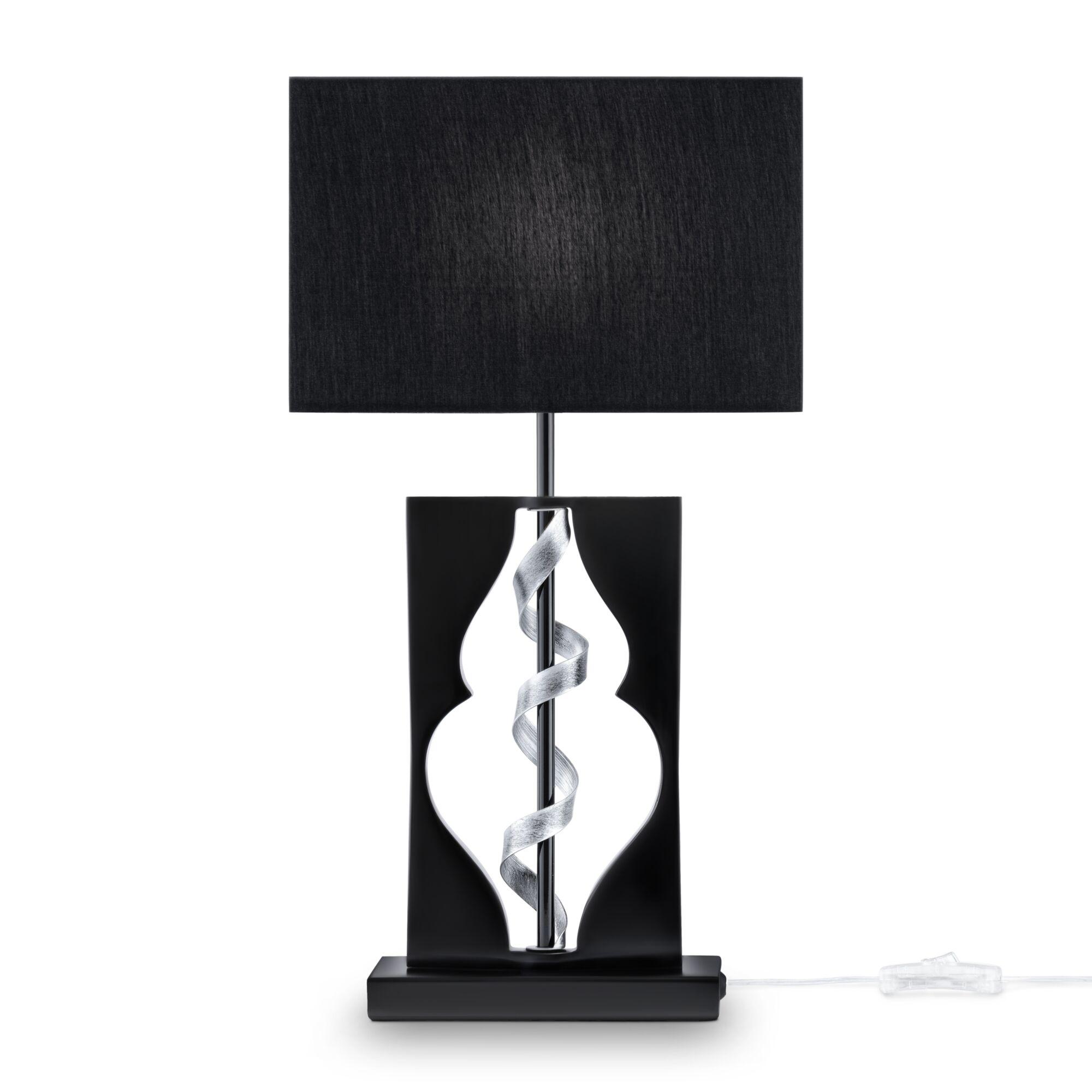 Настольная лампа Maytoni ARM010-11-R черный/хром 1хE14х40W настольная лампа maytoni intreccio arm010 11 r 40 вт