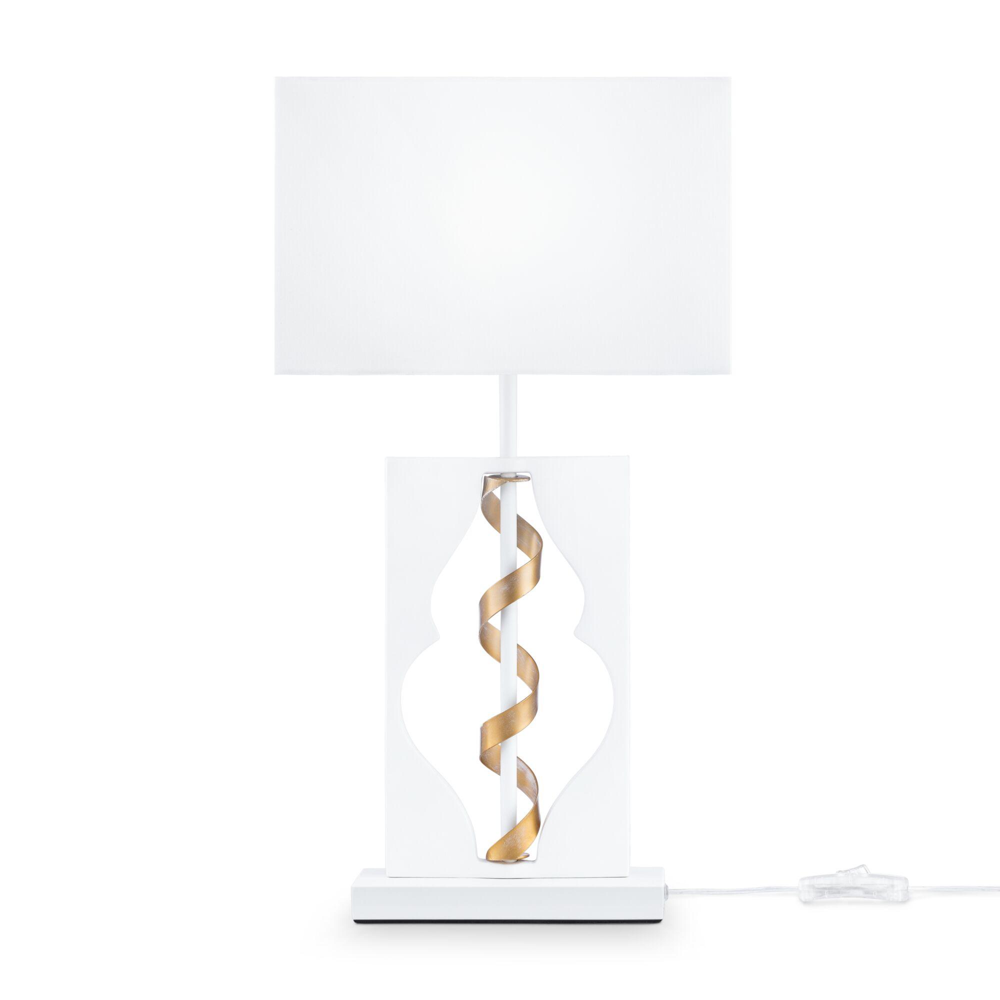 Настольная лампа Maytoni ARM010-11-W Белый с Золотом 1хE14х40W настольная лампа eurosvet 01002 1 белый с золотом