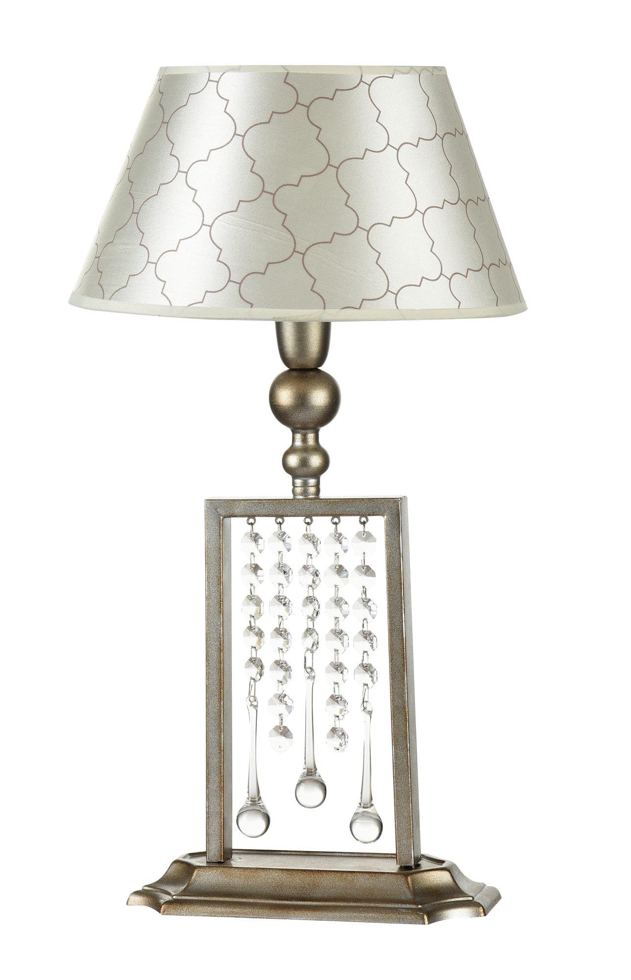 Фото - Настольная лампа Maytoni H018-TL-01-NG Серебро Антик 1хE14х40W бра maytoni h018 wl 01 ng