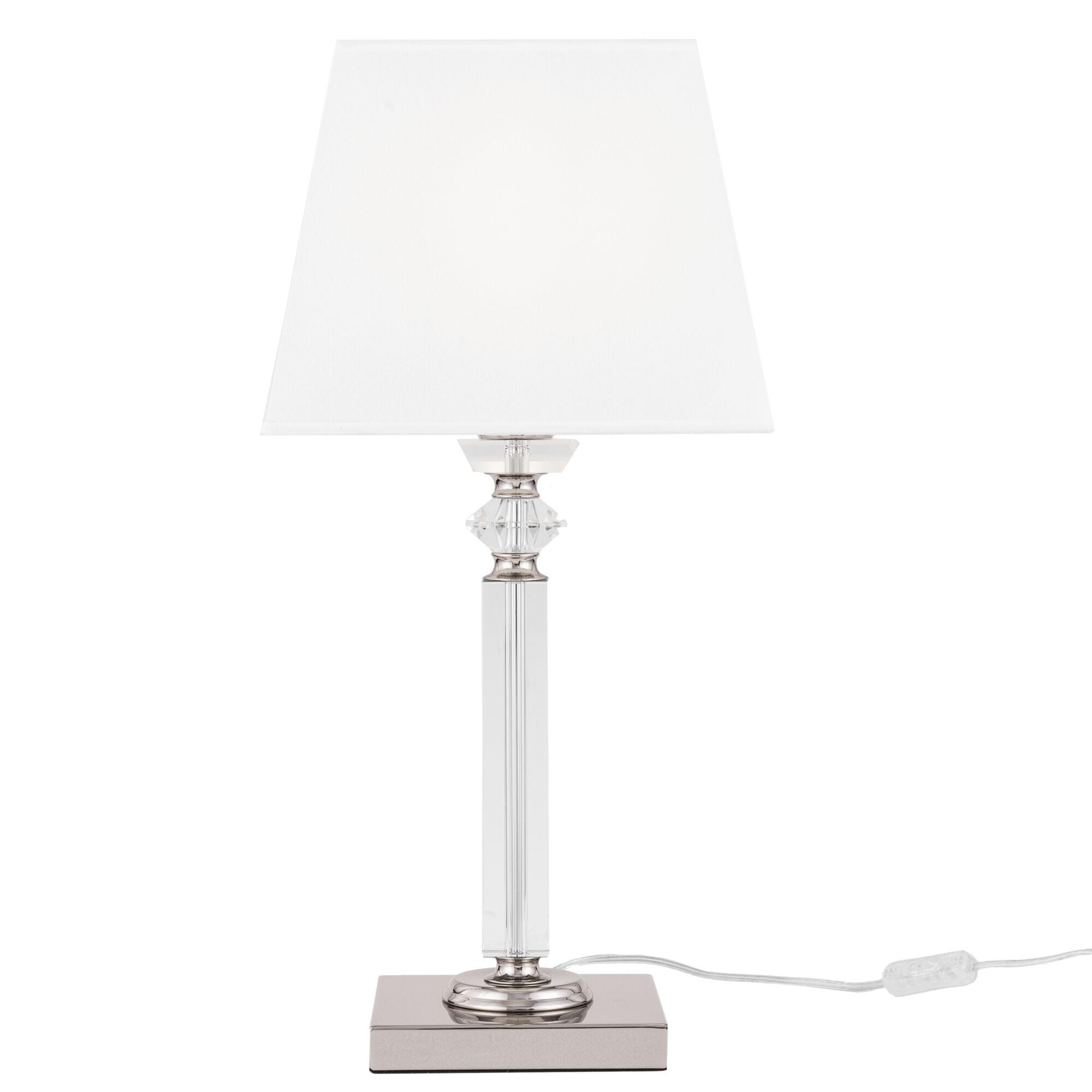 Настольная лампа Maytoni MOD019TL-01CH Хром 1хE27х60W бра maytoni mod617wl 01ch хром 1хe27х60w