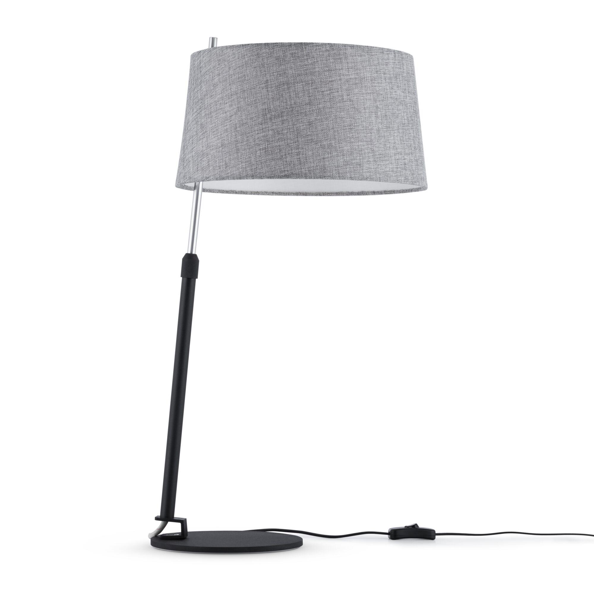 Настольная лампа Maytoni MOD613TL-01B черный/хром 1хE27х60W фото