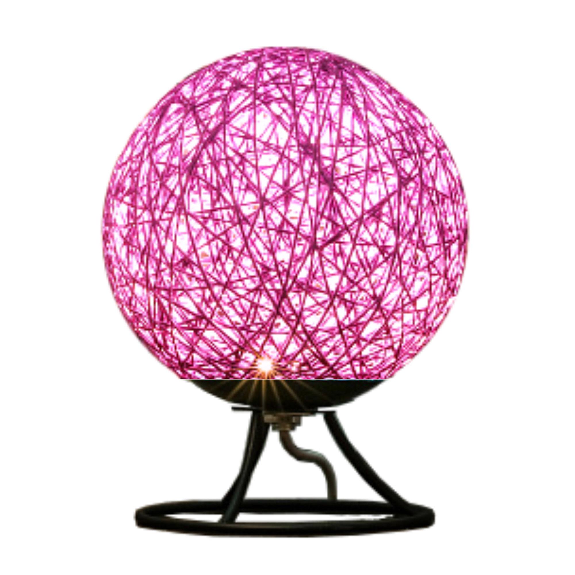 Ночник из ротанга Apeyron фиолетовый мебель из ротанга