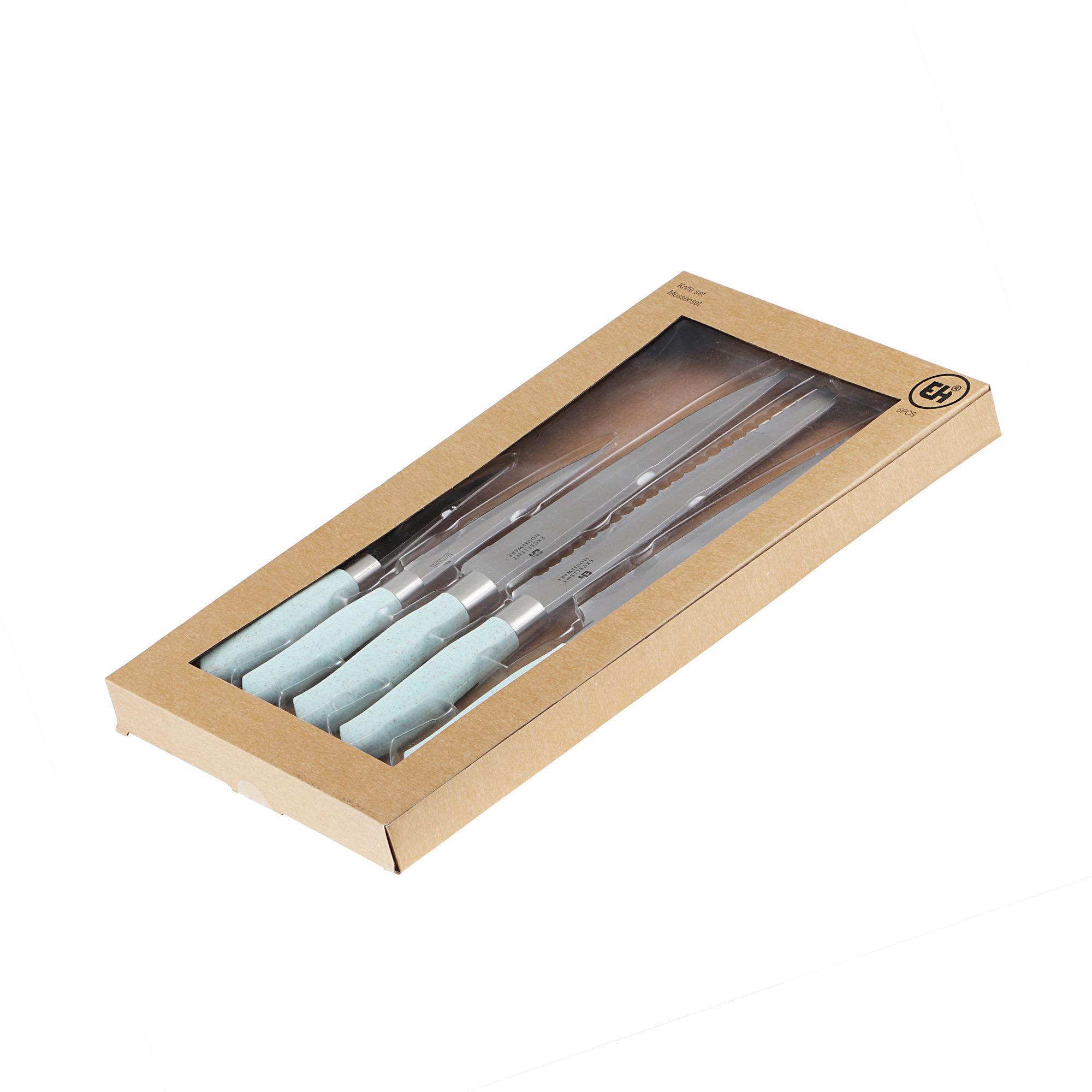 Фото - Набор кухонных ножей Koopman tableware 5 шт набор кухонных ножей zwilling pro 38438 000