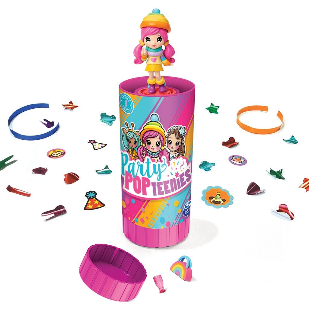Фото - Игрушка Spin Master Party Popteenies Хлопушка с сюрпризом шапка true spin neon