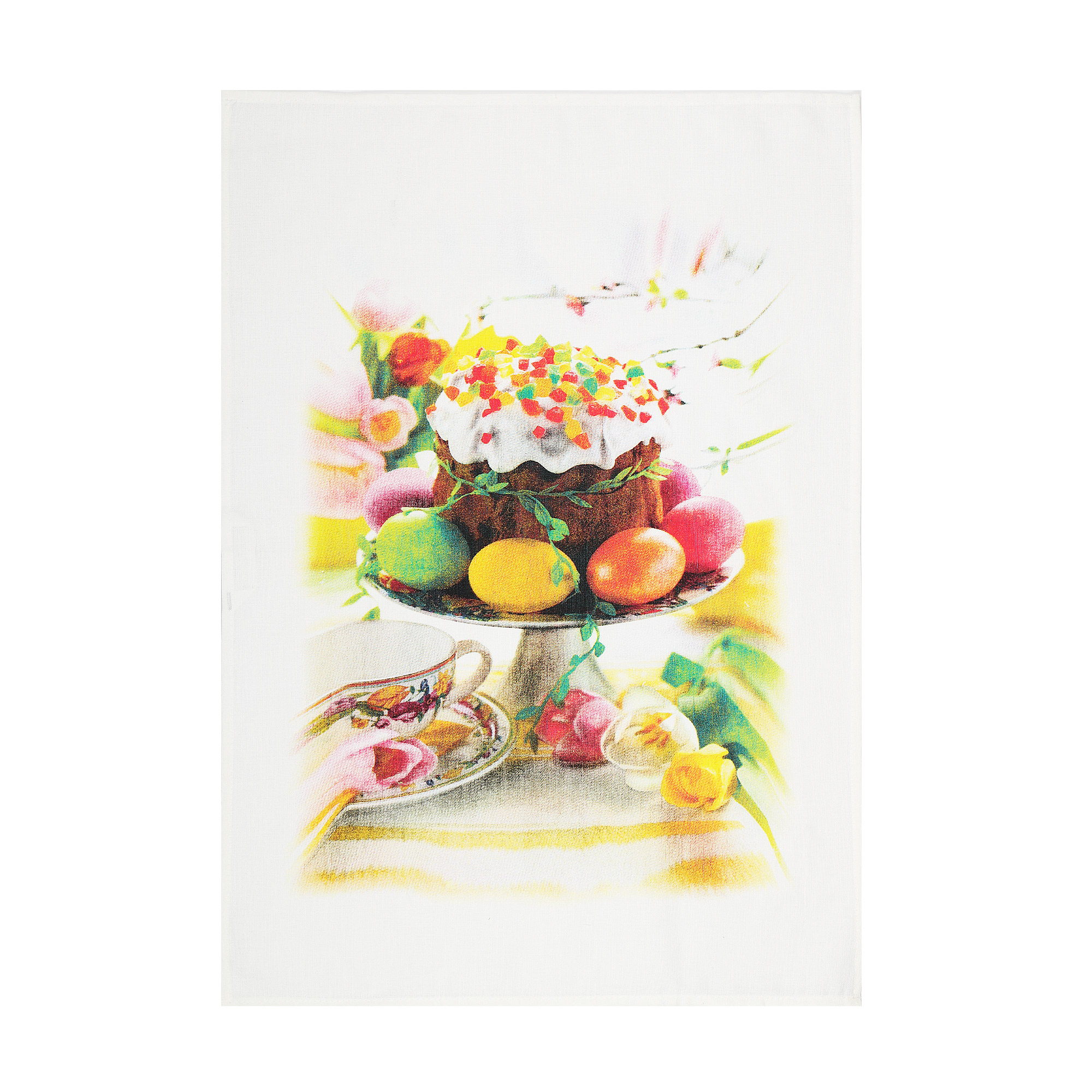 Полотенце кухонное Оршанский льнокомбинат пасхальный завтрак 50х70
