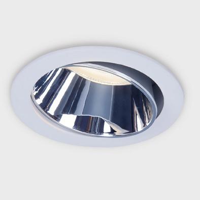 Светильник точечный Ambrella light tn113 wh/ch d78х29 фото