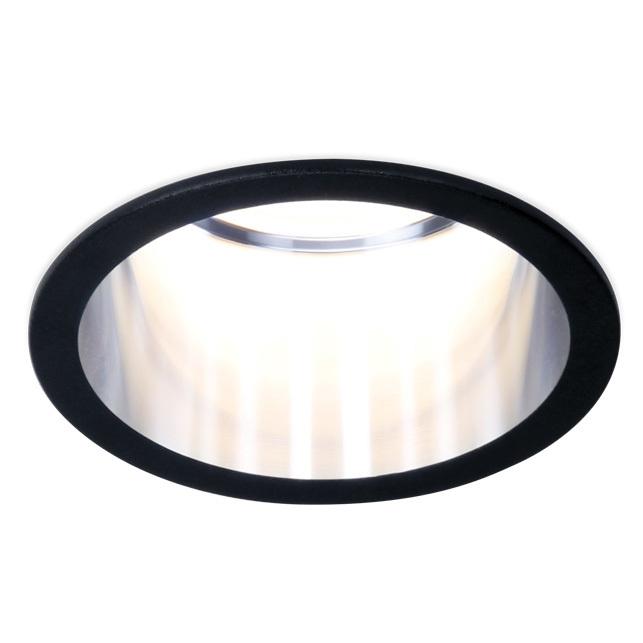 Светильник точечный Ambrella light tn212 bk/ch d68х50 фото