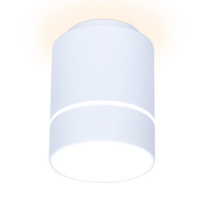 Светильник точечный Ambrella light tn256 wh/s 7w d80х135 фото