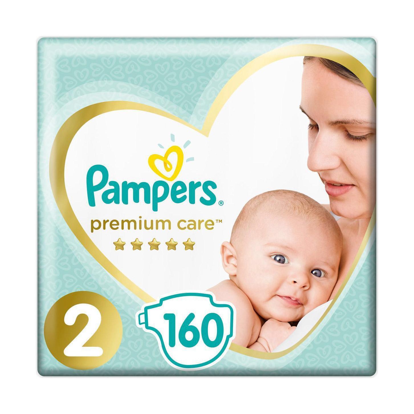 Подгузники Pampers Premium Care 4-8 кг 160 шт