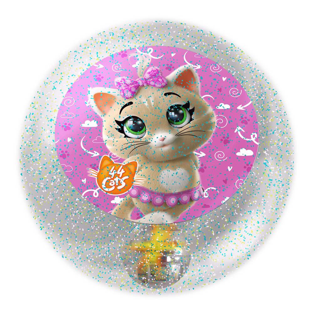 Фото - Мяч светящийся John с водой 44 котенка 6,5 см мяч сквишик john 9 см 44 котенка пилу