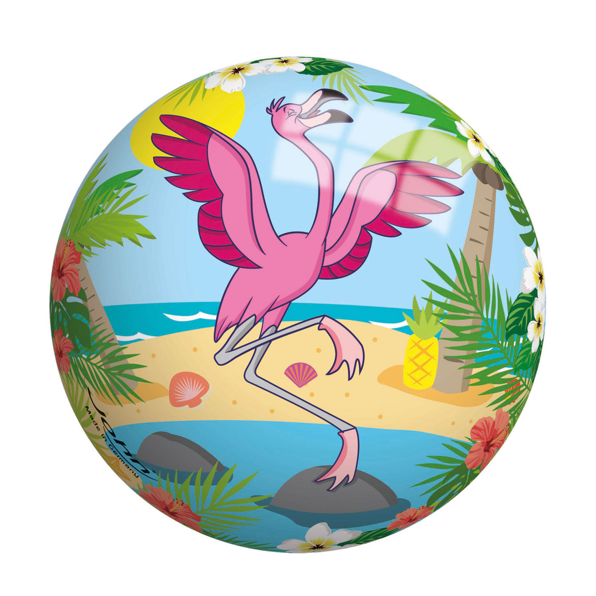 Мяч John Фламинго 13 см мяч john джамбо 38 см