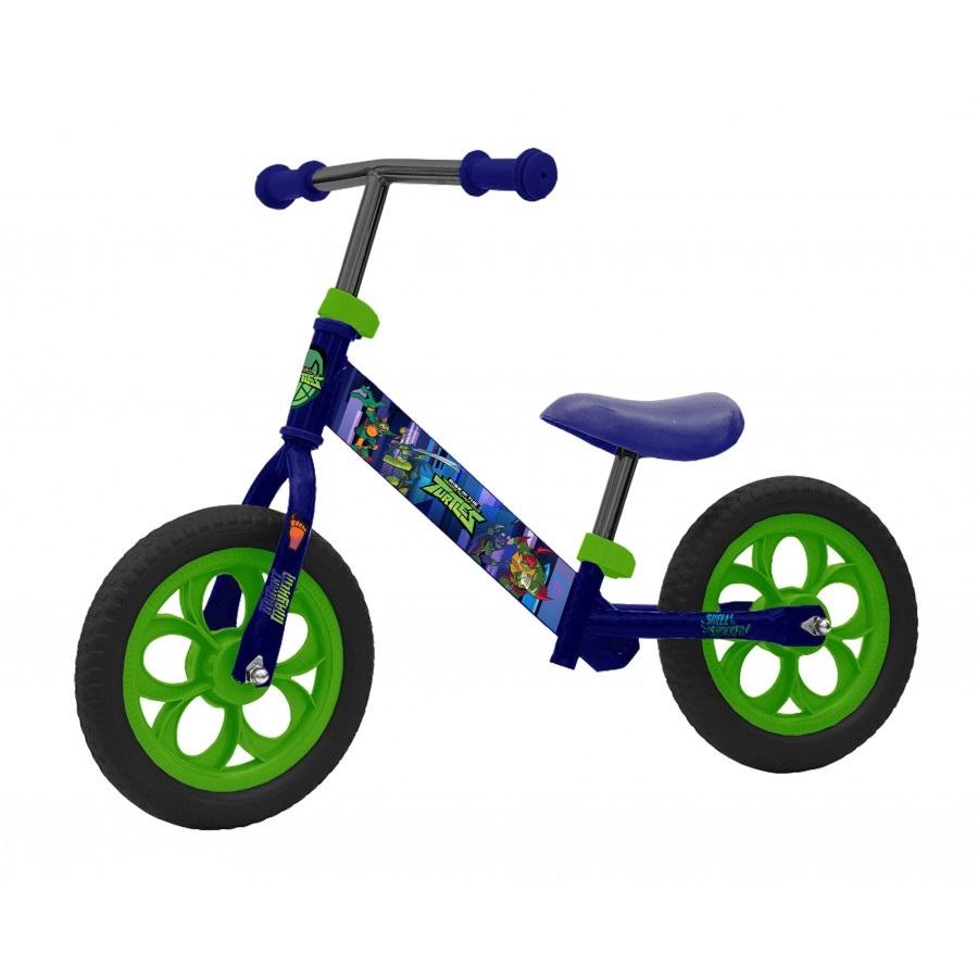 Фото - Беговел Черепашки_ниндзя колеса 12 дюймов navigator скейт navigator пластиковый светящиеся колеса в ассорт