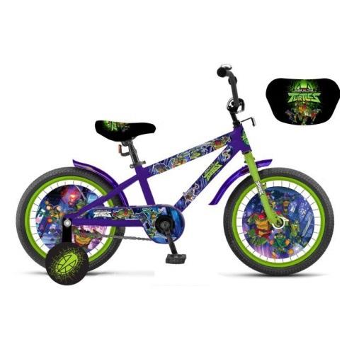 Детский велосипед Черепашки_ниндзя, колеса 18 дюймов фото