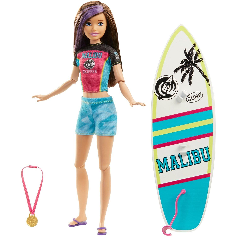 Игровой набор Mattel Barbie Спортивные сестренки в ассортименте mattel игровой набор barbie тереза гимнастка