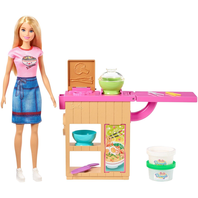Игровой набор Mattel Barbie Лапшичная GHK43О mattel игровой набор barbie тереза гимнастка