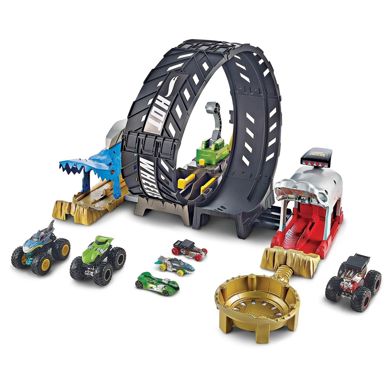Набор игровой Mattel Hot Wheels Мертвая Петля машины mattel hot wheels сити игровой набор шиномонтажная мастерская