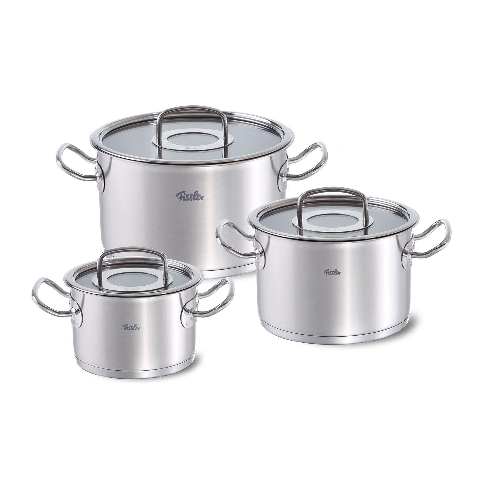 Набор посуды Fissler Original Pro 6 предметов 2/4/6,3 л