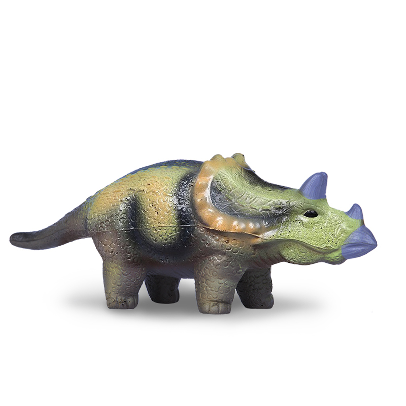 Игрушка Maxitoys Антистресс-Динозавр Трицератопс