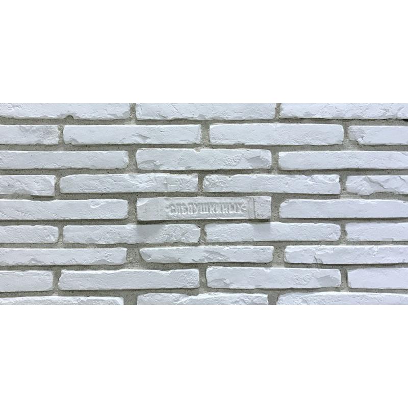 Плитка Керамика Ригель Императорский Белый 25,8x3,8 см