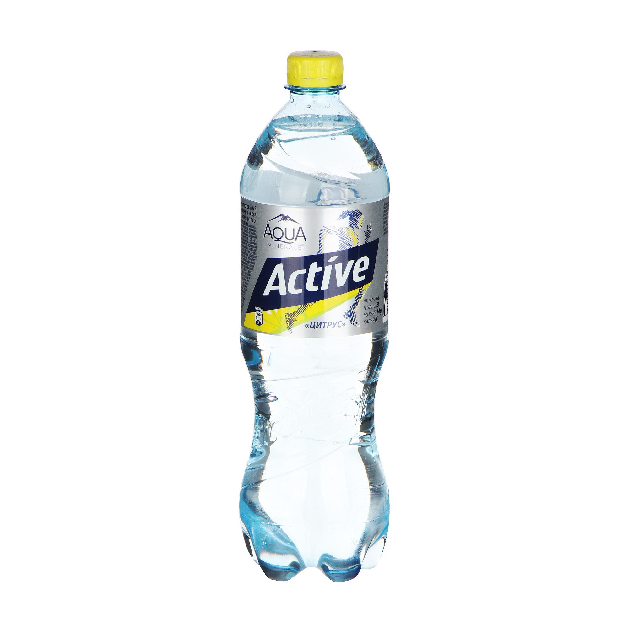 Фото - Вода Aqua Minerale Актив цитрус 1 л вода aqua minerale малина 500 мл