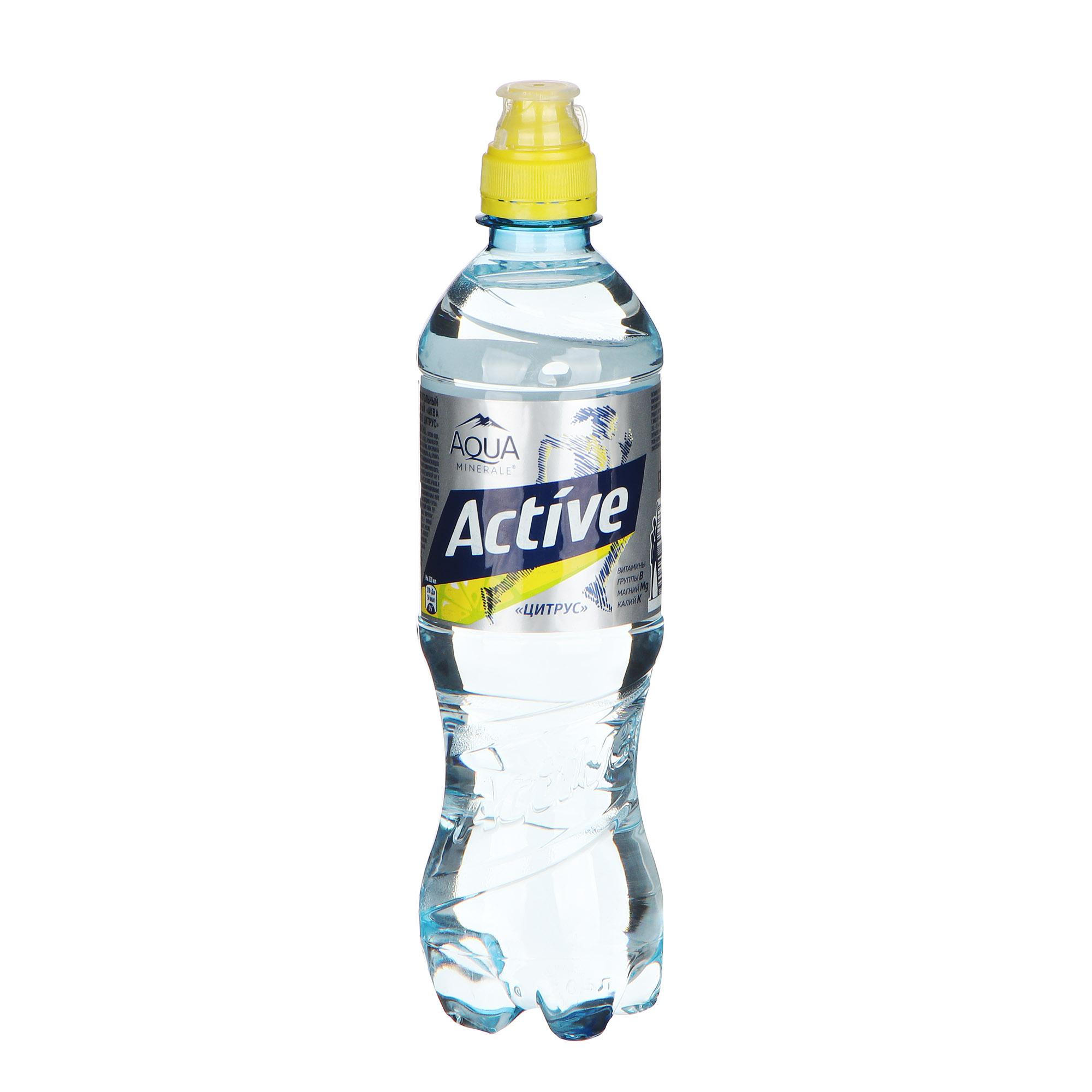 Фото - Вода Aqua Minerale Актив цитрус 0,5 л вода aqua minerale малина 500 мл