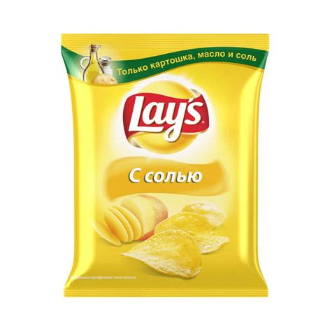Фото - Чипсы картофельные Lays с солью 90 г лоренц чипсы картофельные naturals классические с солью lorenz