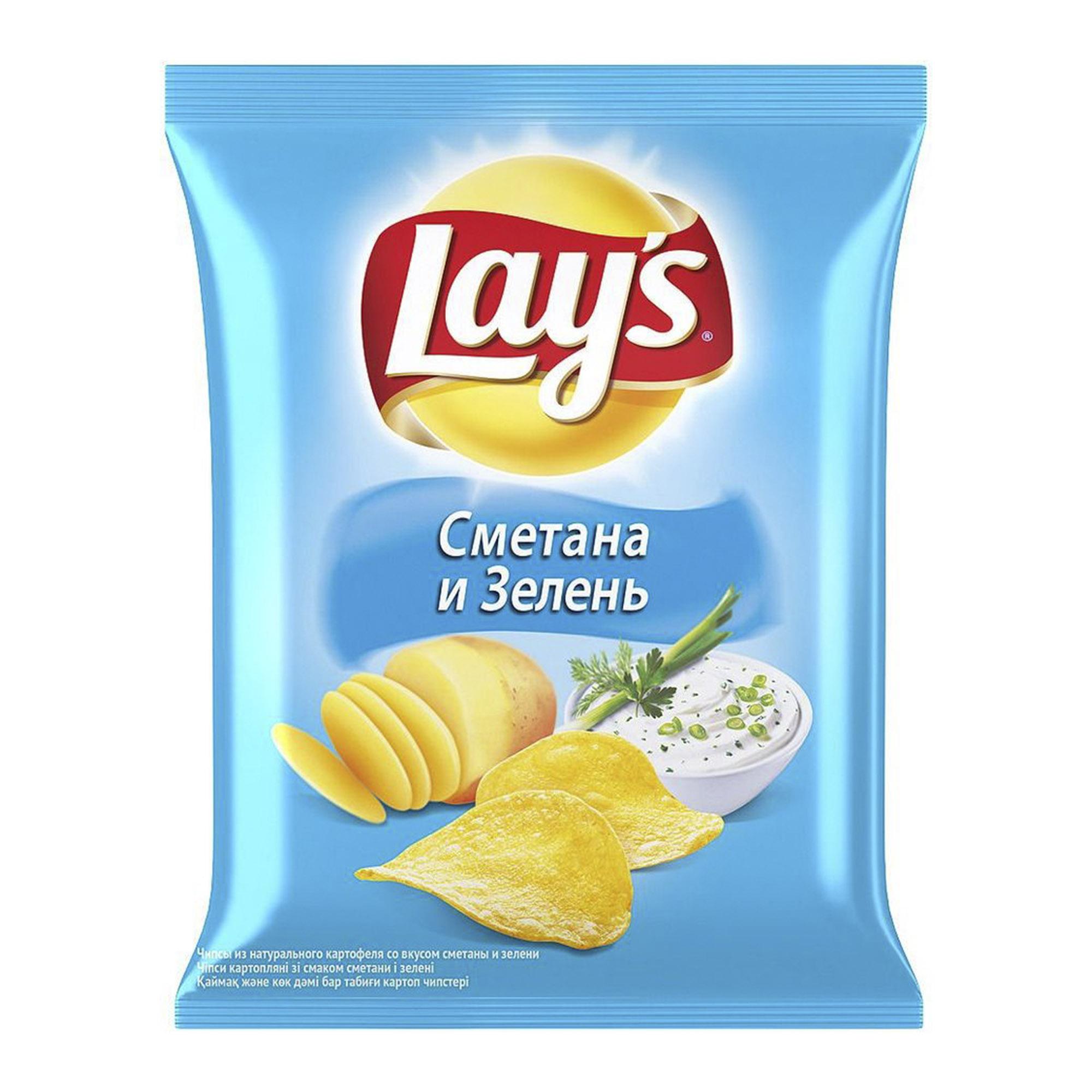 Чипсы картофельные Lays Сметана и зелень 50 г подвесной светильник lussole loft bethel lsp 8019