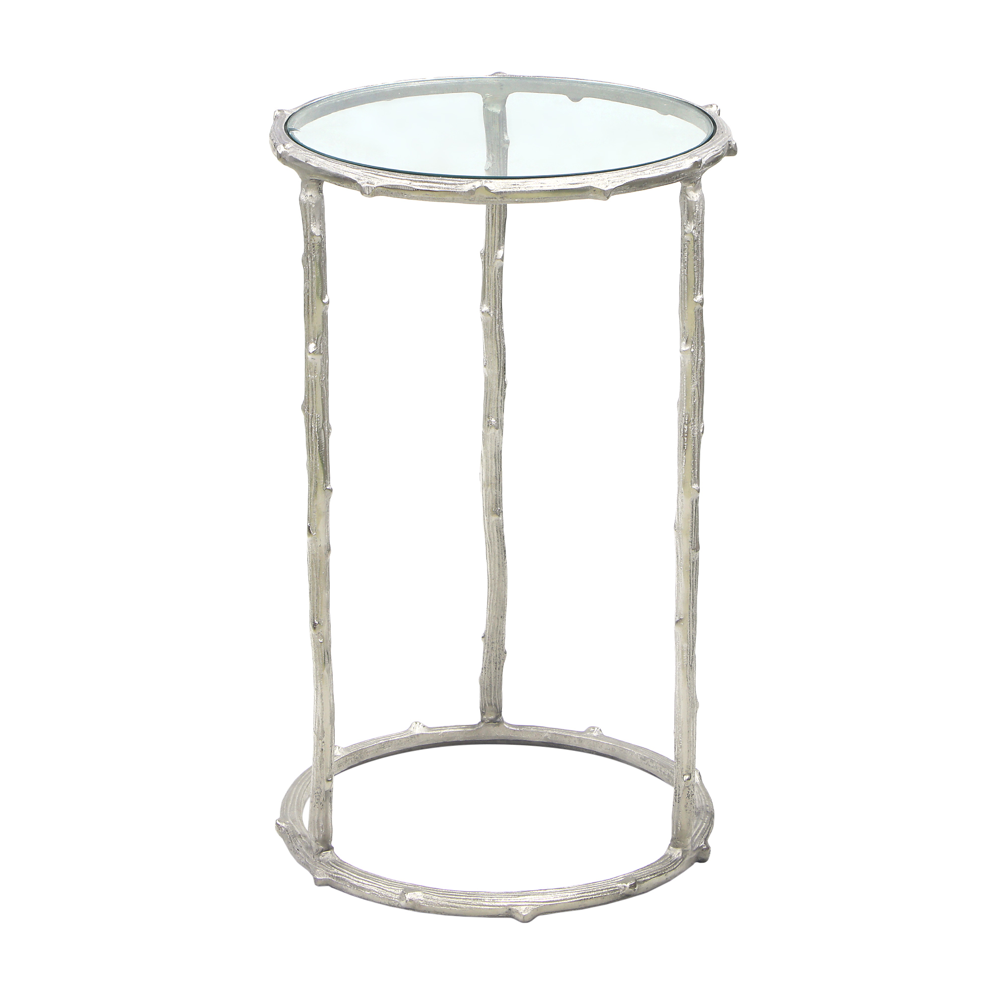 Столик кофейный круглый Bizzotto karan 41х41х66 см
