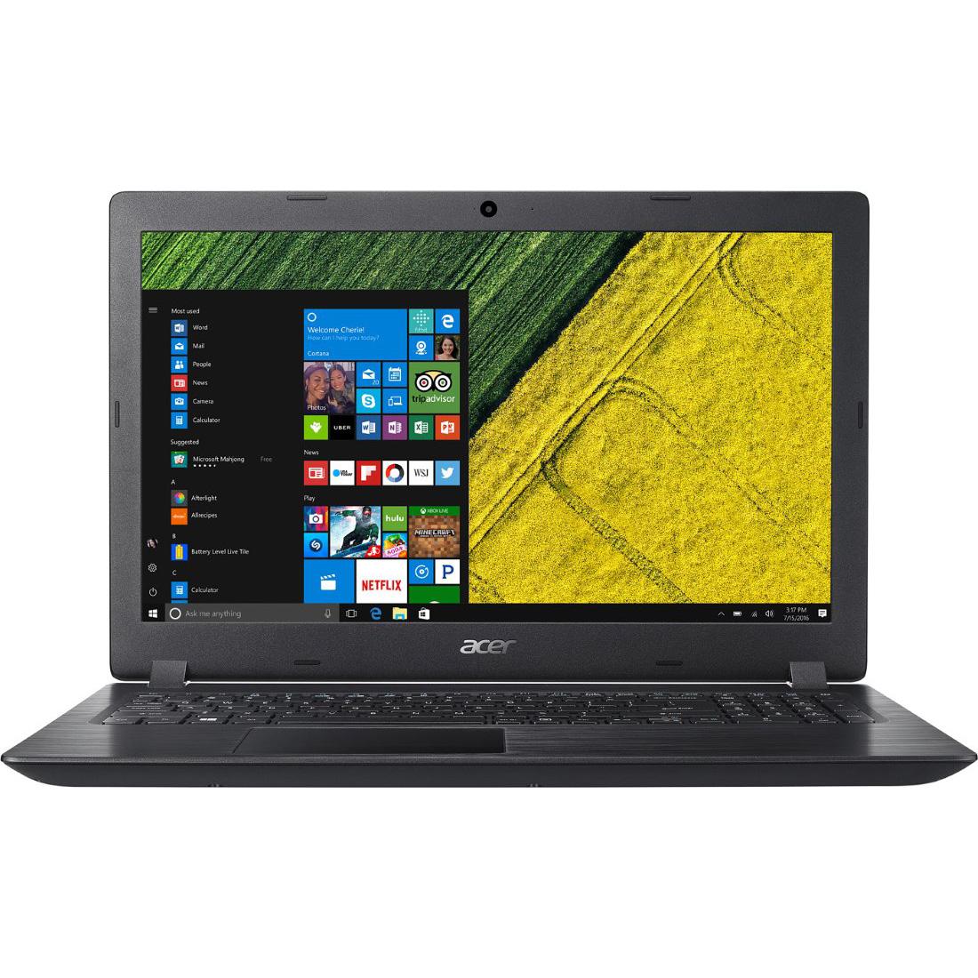 Ноутбук Acer Aspire A315-21G-944Q черный компьютер