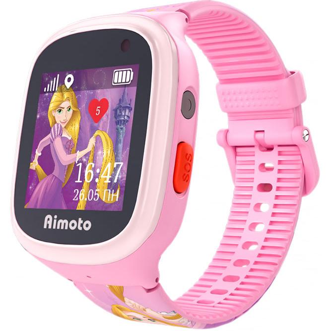 Детские умные часы Кнопка жизни Aimoto Рапунцель умные часы кнопка жизни aimoto rapunzel