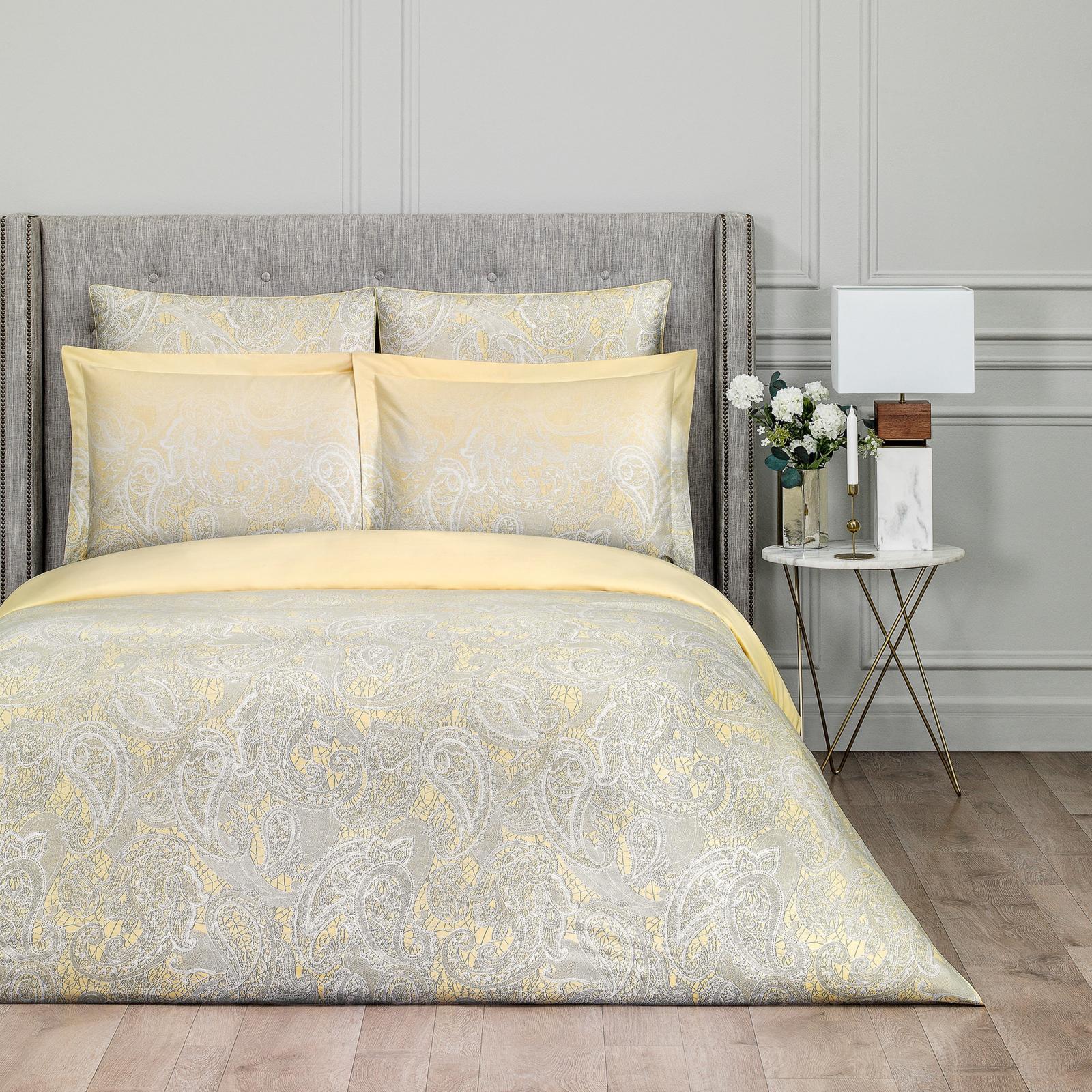 Постельный комплект Togas Маргарет желтый семейный постельный комплект dolce vita семейный cogal
