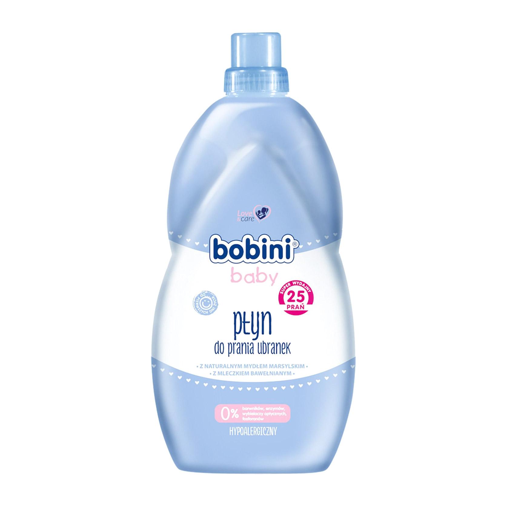 Жидкость для стирки одежды BOBINI для новорожденных и детей BABY 0+ 2 л