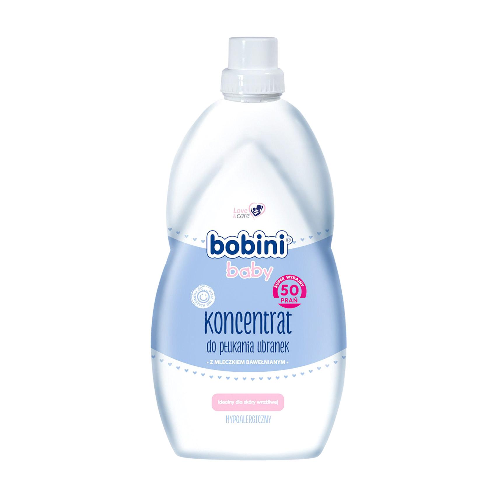 Ополаскиватель для белья BOBINI для новорожденных и детей BABY 0+ 2 л