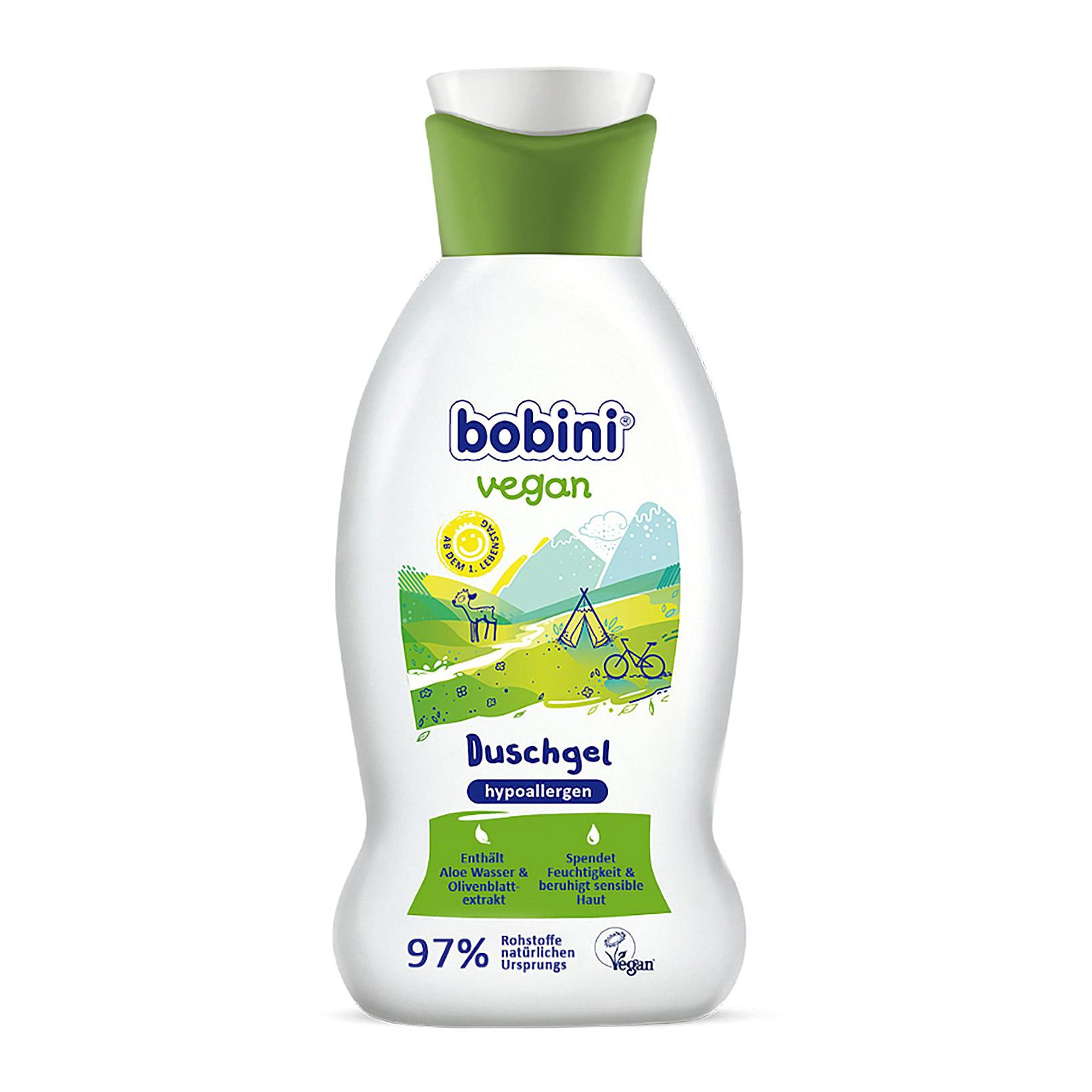 Гипоаллергенный гель для душа BOBINI VEGAN 0+ 200 мл