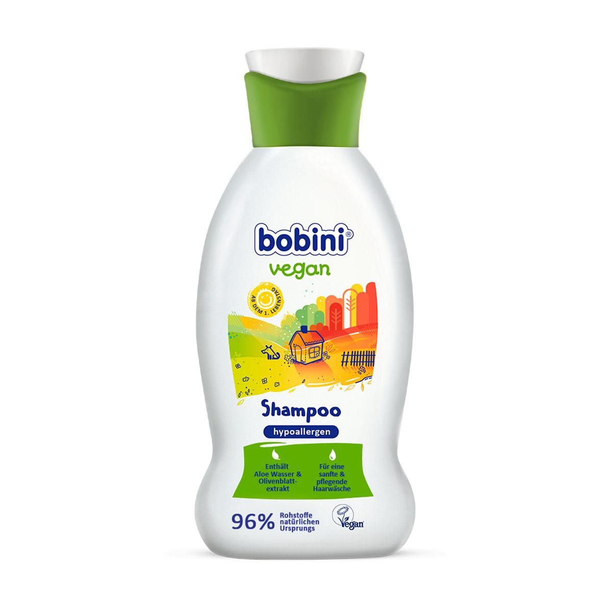 Гипоаллергенный шампунь BOBINI VEGAN 0+ 200 мл