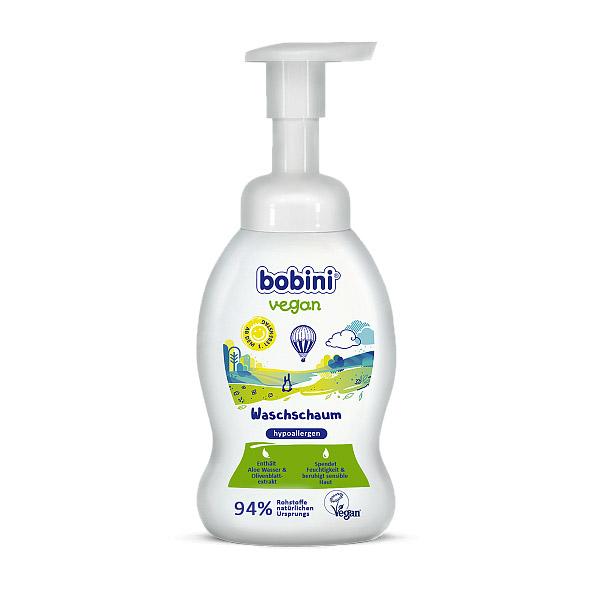 Гипоаллергенная пена для лица и тела BOBINI VEGAN 0+ 300 мл