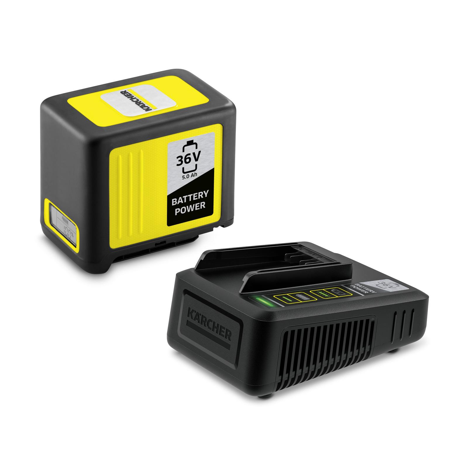 Комплект стартовый Karcher starter kit battery аккумулятор зарядное устройство karcher starter kit battery power 36 25 2 445 064