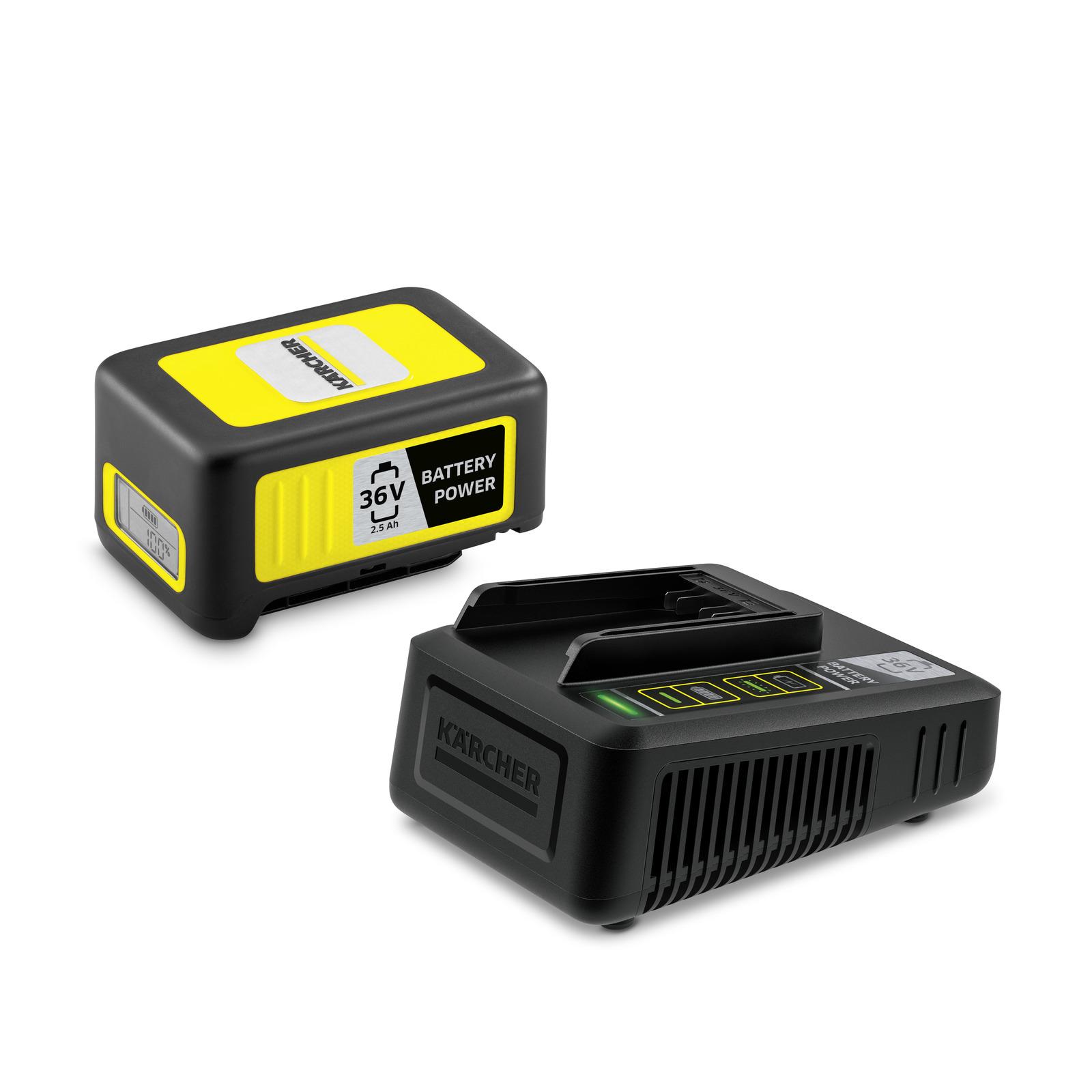 Комплект стартовый Karcher power 36/25 аккумулятор зарядное устройство karcher starter kit battery power 36 25 2 445 064