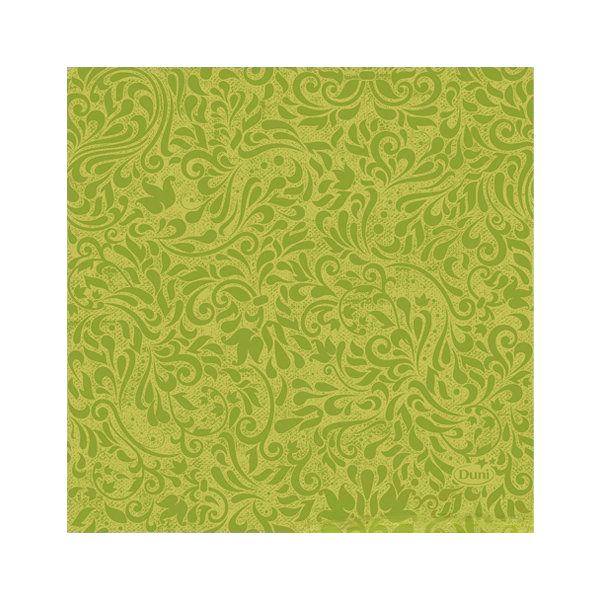 Салфетки Duni ZINNIA KIWI бумажные 3-х слойные 24х24 см