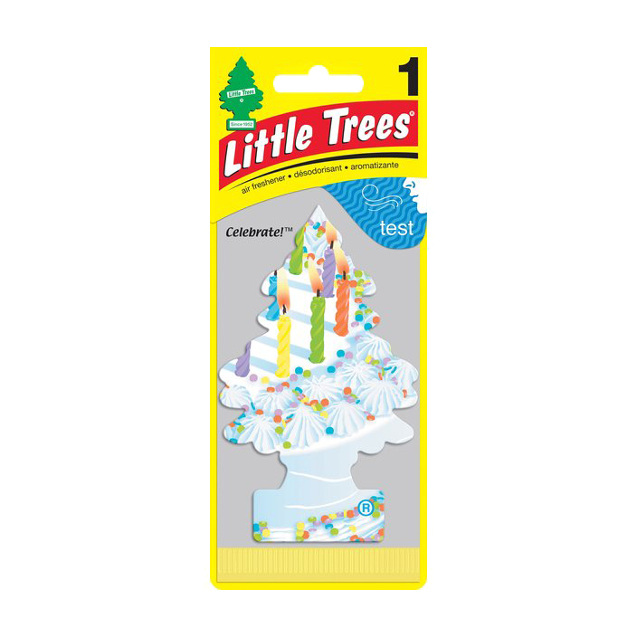 Ароматизатор ёлочка Little Trees С днем рождения.